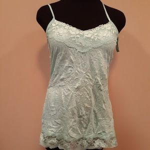 Maurice's camisole teal, womans Large NWT